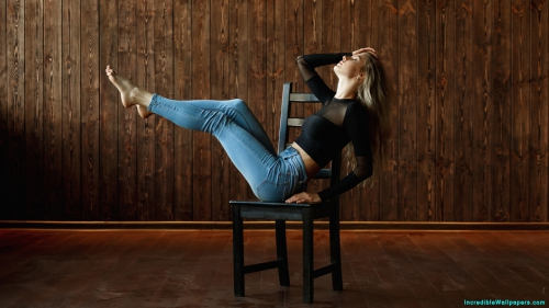 Beautiful Girl Sitting On Chair,  Girl Sitting On chair,  Girl On Chair,  Girl In Jeans,  Girl In Black Dress,  Girl With Closed Eyes,  Beautiful Girl,  Cute Girl,  Beautiful,  Cute,  Pretty,  Innocent,  Shy,  Girl,  Women,  Model,  Blonde,  Pink Lips,  Makeup,  Face Makeup,  Eyes Makeup,  Makeup Model,  Makeup Girl,  Makeup Women,  Open Hair,  Long Hair,  Black Dress,  Jeans,  Sitting,  Chair,  Indoor,  Photo Shoot,  Wooden Background,  Girl Wallpapers,  Latest,  HD,  Wallpapers,  Download,  IC2025